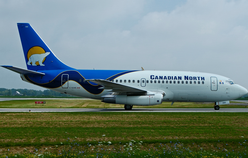 Airline Canadian North (Canadian North). Official sayt.3