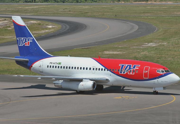 TAF Linhas Aereas (PAF air line). Official sayt.2
