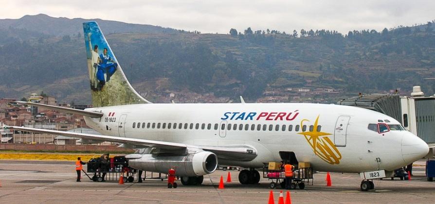 Boeing 737-200. Peru Star.