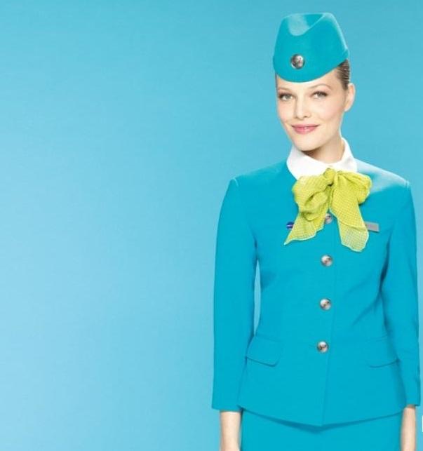 S7 Airlines. Russie. nouveaux uniformes