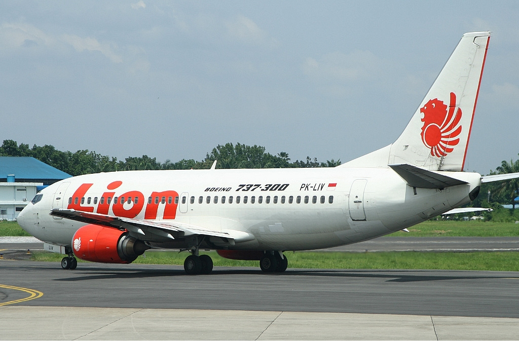The airline Lion Air. plane