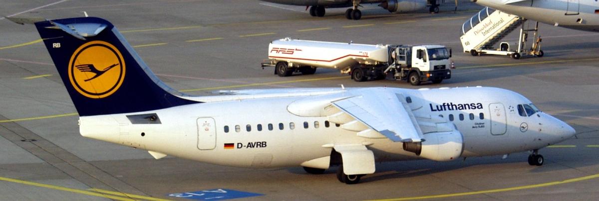 BAe Avro RJ-70 / 85 / 100 plane