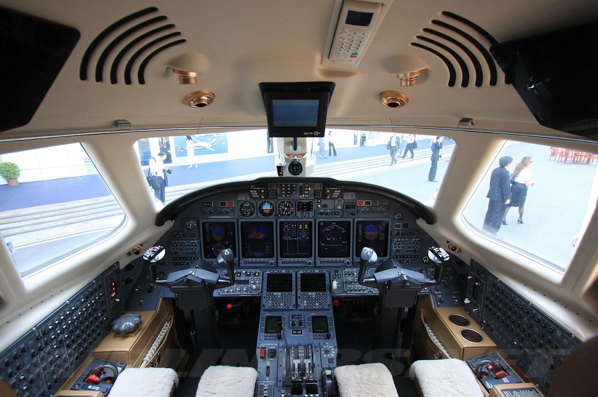 Cessna Citation X pozzetto