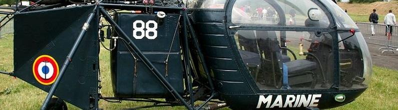 Aérospatiale Alouette. cabine fotografiche.