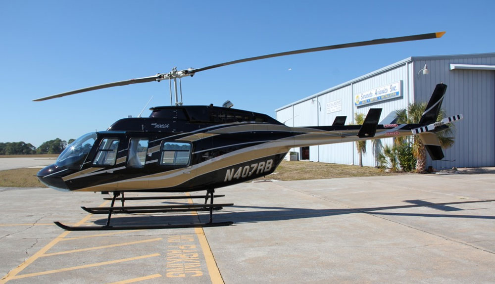 Helicopter Bell 206L4 photo