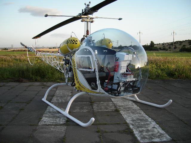 Bell 47. A photo.