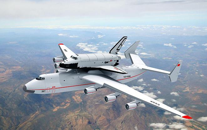 Le plus gros avion du monde. Une série de photos. 3