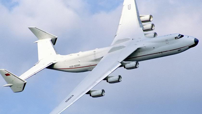 Le plus gros avion du monde. Une série de photos. 5