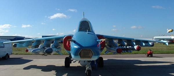 Su-39 dans le stationnement