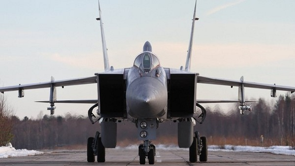 MiG-31 photo front