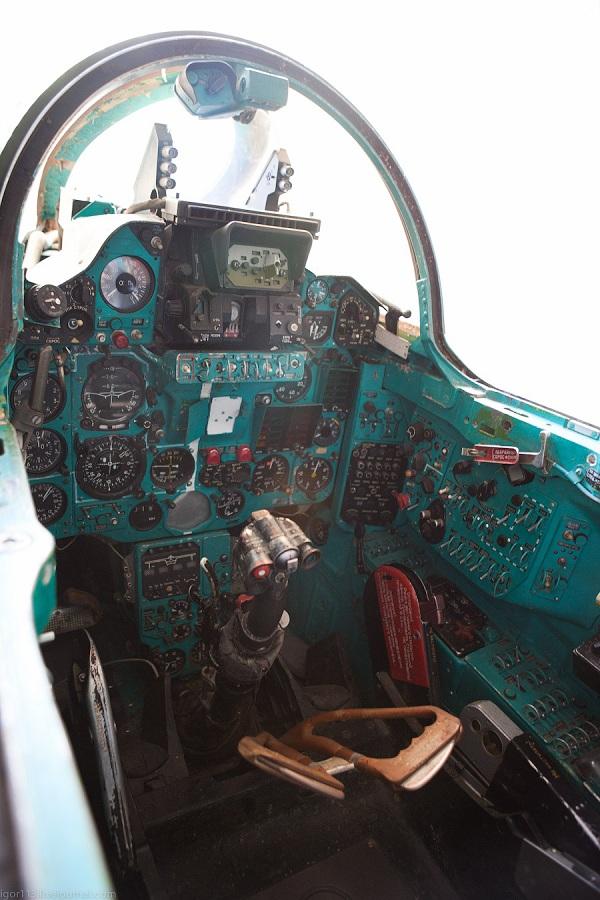 MiG-23 cabin
