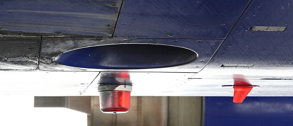 the ventilation system of the aircraft