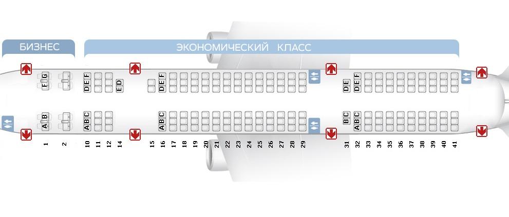 Los mejores lugares de Tu 214 - salón de Transaero