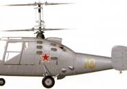 Ka-15 layout photo Side