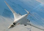 Tu-160 foto sopra le nuvole