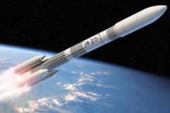 Space rocket flight speed: photo, video