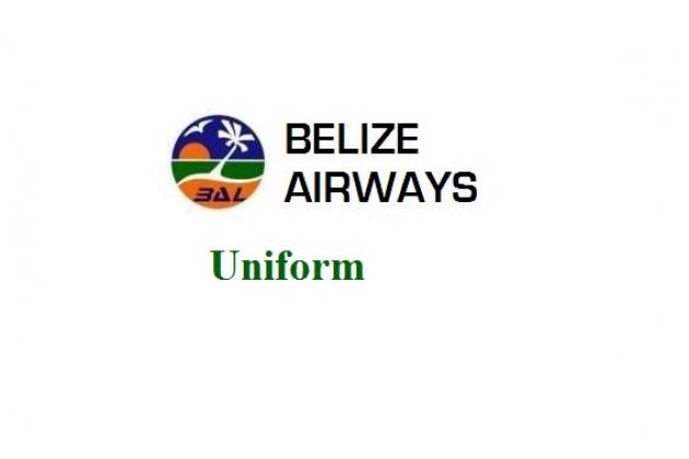 Uniformi di assistenti di volo: Belize Airways. Belize.