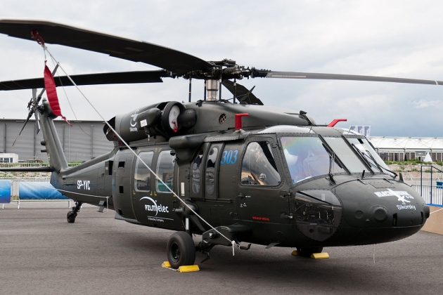 The first helicopters BLACK HAWK received Brunei.