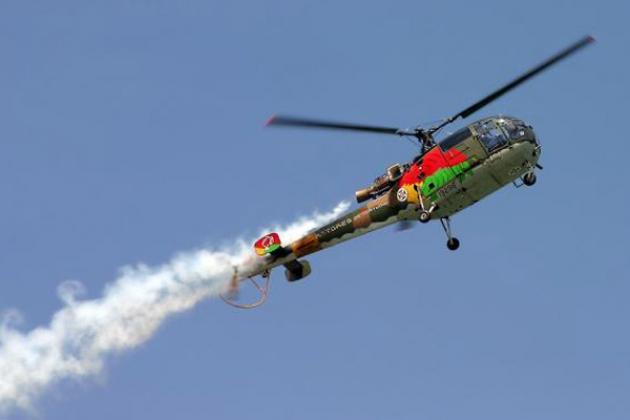 L'hélicoptère HAL Chetak. Spécifications. Photo.