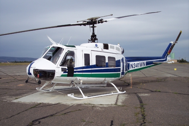 Helicopter Bell 204 / 205. Specifications. A photo.