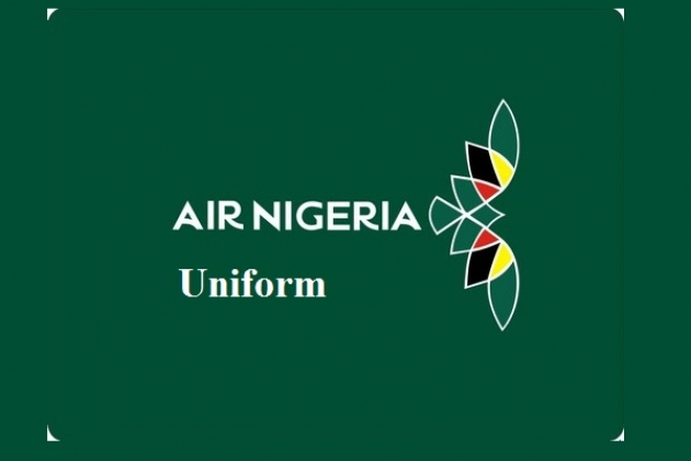 Uniforms stewardess: Air Nigeria. Nigeria.