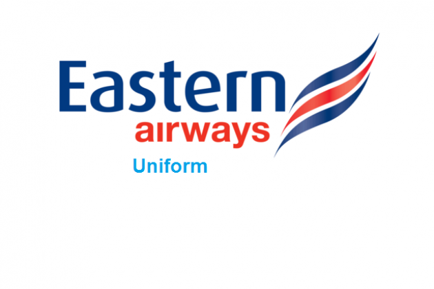 Uniforms stewardess: Eastern Airways. United Kingdom.