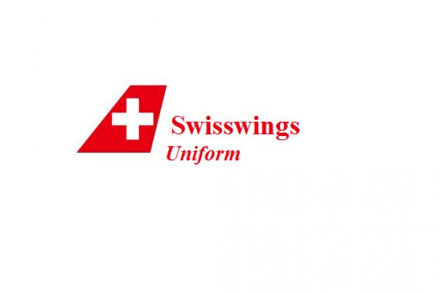 Uniforms stewardess: Swisswings, Switzerland.