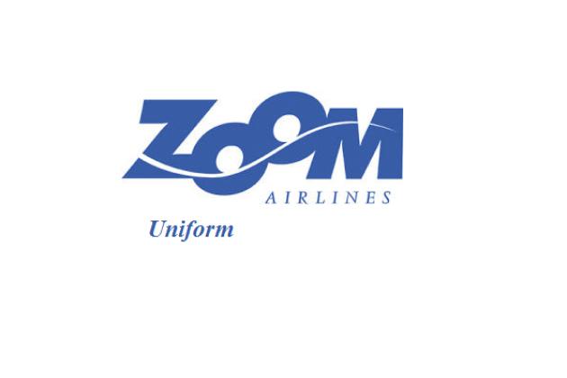 Униформа стюардесс: Zoom Airlines. Великобритания.