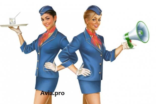 Речь стюардессы и какой она должна быть.