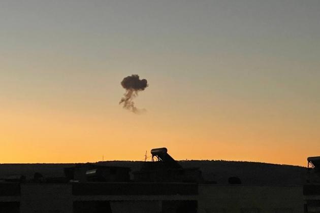 Shot down a drone