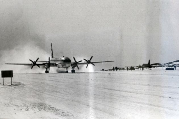 تحطم طائرة IL-14 بالقرب من المطار ستالينغراد. 1958