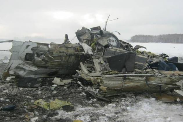 Plane crash Li-2 near the airport Mom. 1951