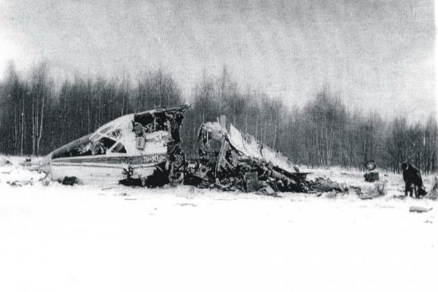 Авиакатастрофа Ту-104Б в районе аэропорта Внуково. 1979
