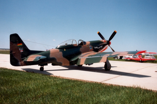 Cavalier F-51D Mustang Mk 2. A photo. Characteristic.