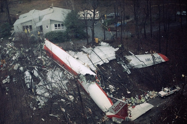 Films about the plane crash. Suburbs New York