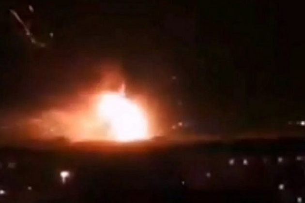 Explosion in Syria