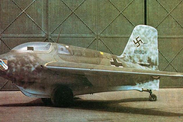 Самолет Messerschmitt Ме-163 «Комета»