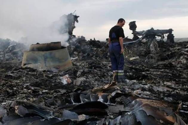 Wreckage MH17