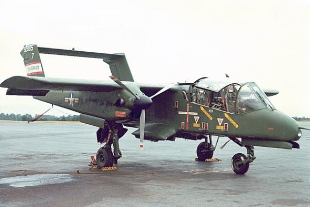 Amérique du Nord Rockwell OV-10D Bronco. Photo. Caractéristiques.
