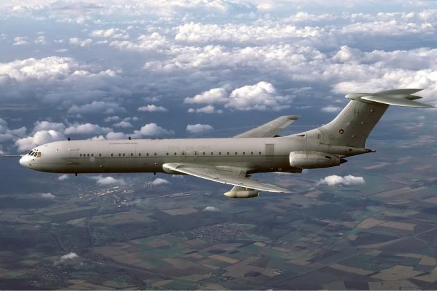 Vickers VC10. Технические характеристики. Фото.