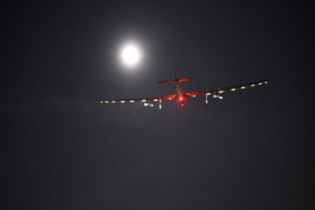 L'avion Solar Impulse 2