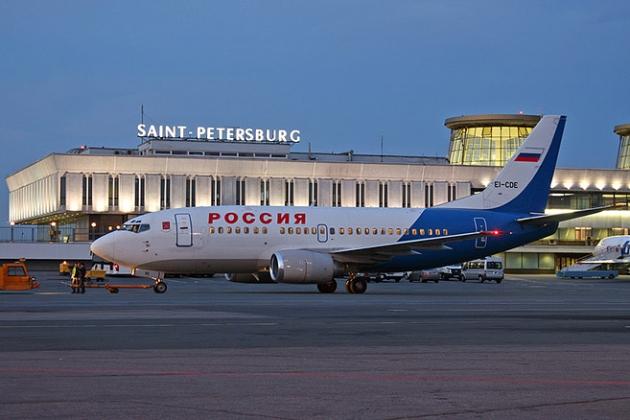 مطار سانت بطرسبرغ