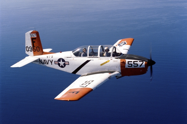 Beech T-34 Mentor. A photo. Characteristic.