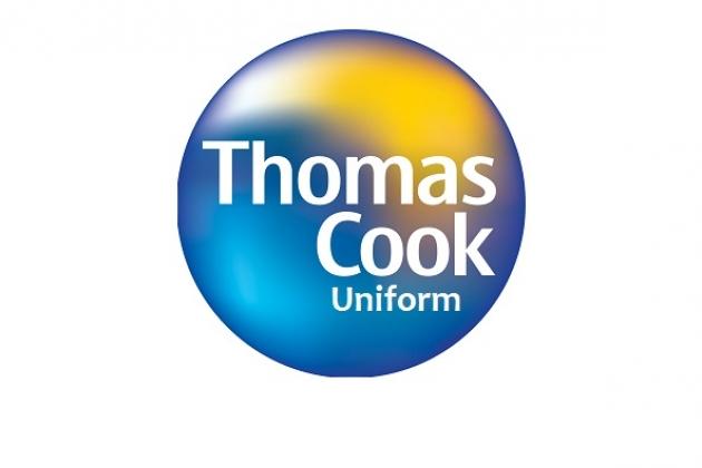 Uniforms stewardess: Thomas Cook. United Kingdom.