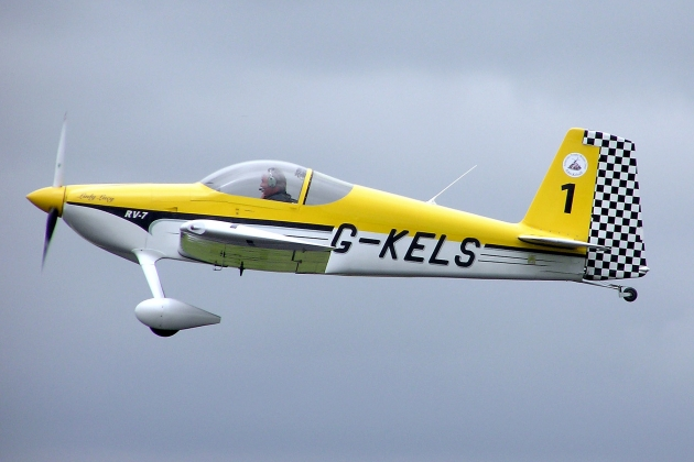 Van's RV-7. Specifications. A photo.