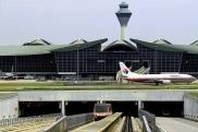 المطار الدولي في كوالا لمبور (ماليزيا)