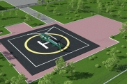 Design and construction of helipads