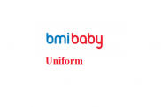 Uniforms stewardess: Bmibaby. United Kingdom.