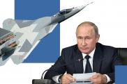 Su-57 Putin