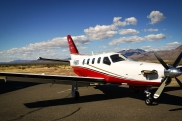 Socata TBM 700. Specifications. A photo.